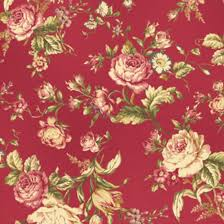 Mary Rose Quilt Gate Fabric Collection AMELIA 15E Tossed Pink ... & Mary Rose Quilt Gate Fabric Collection AMELIA 15E Tossed Pink Floral Flower  Rose on Dark Pink Adamdwight.com