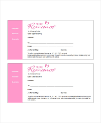 Gift Card Word Template Gift Certificate Template Word 9 Free Word Documents