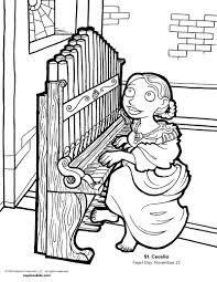 Free Coloring Pages - Catholic Kids