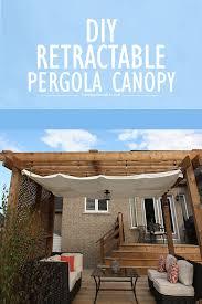 how to make a pergola canopy for shade