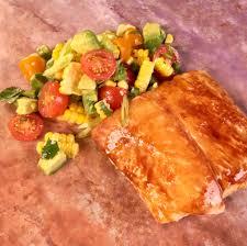 perfect dish -- Cedar Plank Halibut ...