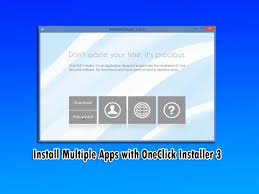 Install Multiple Apps with One Click Installer 3 - YouTube