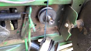 john deere stx 38 drive belt change john deere stx 38 drive belt change