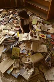 my inner book der rejoices this will be how i buried under a pile of fallen books