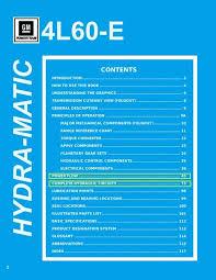 4l60e Apply Chart 4l60e Technicians Guide Grail
