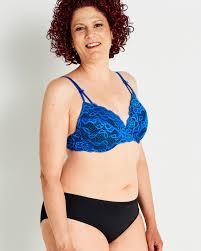 La Vie En Rose Size Chart Muse Lightly Lined Mastectomy Bra Blue La Vie En Rose