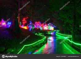 Defiance Zoo Lights Zoolights At The Point Defiance Zoo In Tacoma Wa Stock