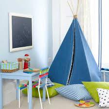 boys bedroom ideas green. Boys\u0027 Bedroom With Blue Teepee And Blackboard Boys Ideas Green E