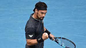 Australian Open   Fognini batte Caruso e scoppia la lite Avanza Berrettini