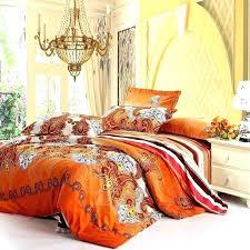 burnt orange bedding sets