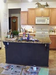 painted kitchen islandsA Stroll Thru Life Painted Kitchen Island  Give Me Your Input