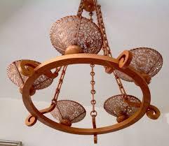Deckenlampe Leuchter Holz Kronleuchter Selten In 67551 Worms
