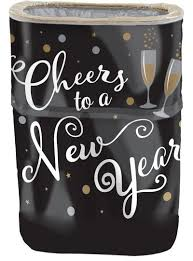 <b>Cheers</b> to a <b>New Year</b> Pop-Up Trash Bin 15in x 22in | Party City