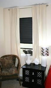 001 no sew dropcloth curtains dreamalittlebigger