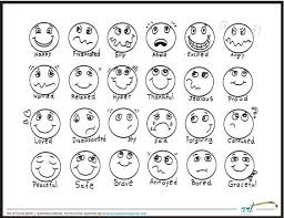 Angry, calm, happy, sad, scared and silly. Emoji Coloring Pages Coloring Home