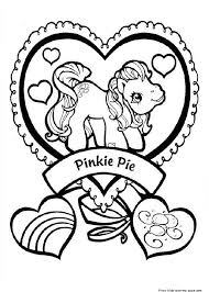 Small Picture Print out my little pony Pinkie Pie coloring pages Free