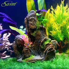 Mountain Decor Accessories Saim Aquarium Fish Tank Fake Mountain Decoration Artificial 57