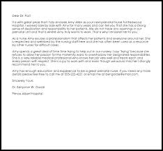 How To Write A Recommendation Letter For Nursing School - Cover ...