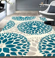 brown and teal rugs teal blue area rug brown cream and teal rugs