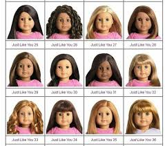 Chart For Jly And Myag Number Chart American Girl Girl Dolls