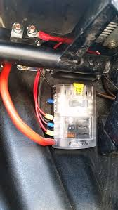 acc fuse block install page 10 polaris rzr forum rzr forums net turned