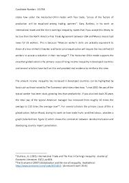 microeconomics essay draft 2