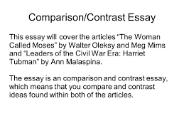 writing portfolio mr butner ppt video online 22 comparison contrast essay
