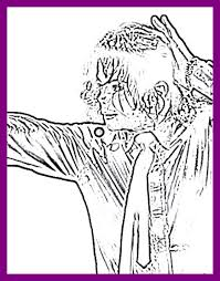 Smooth Criminal Coloring Pages Or Page Lovely Michael Jackson Bad