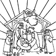 Nativity Coloring Pages Stunning Nativity Coloring Sheet Coloring In