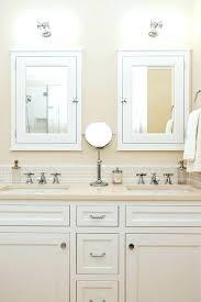 double vanity lighting. Vanity Lighting Over Medicine Cabinet Bathroom Above Mirrors And Lights Cabinets Double . Y