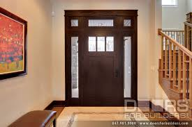Solid Wood Craftsman Entry Doors entry door in stock single with 2