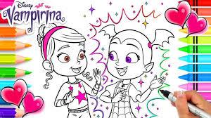 | vampirina coloring book pages ▶ subscribe for more new coloring videos everyday. Vampirina And Her Friend Poppy Coloring Page Vampirina Coloring Book Disney Jr Vampirina Youtube