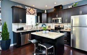kitchens with dark cabinets dark granite kitchen small decor light wood kitchens dark cabinets white countertops