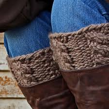 Boot Cuff Pattern Gorgeous VIGILANCE Boot Cuff Knitting Pattern Brome Fields