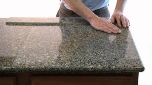 Kitchen Countertop Tile Lazy Granite Tile For Kitchen Countertops Youtube