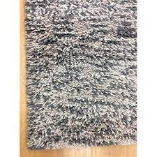 shag eyeball woolen hand knotted greywhite mix area rug grey white rug x64