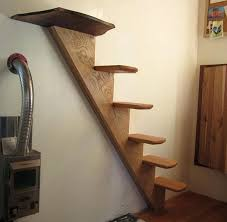 tiny house loft ladder. Loft Stairs Ideas Steps And Ladder For Your Tiny House Sacred Habitats Removable