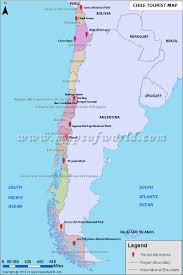 maps update  tourist attractions map in chile – places to