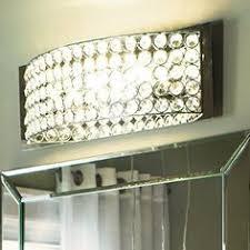 vanity bathroom lighting. Kichler Lighting 4-Light Krystal Ice Chrome Crystal Bathroom Vanity Light E