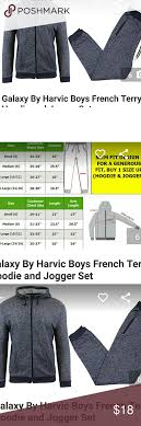 Galaxy By Harvic Size Chart Boys L Galaxy By Harvic French Terry Jogger Set Nwt Navy