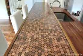 Penny Countertop Yes, please! Great DIY countertop makeovers that are  doable and affordable!