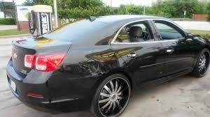 All Chevy chevy 22 inch rims : 2013 Chevy Malibu LT on 22 inch rims - YouTube