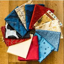 12 best Western images on Pinterest | Westerns, Quilting fabric ... & 5313 (12) Fat Quarter Bundle, Western Fabric Mix, Cotton Adamdwight.com
