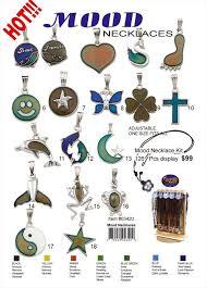 Wholesale Mood Necklace Kit 3420 99 00 Mood Necklace Kit