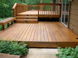 Wood Patio Designs Great Deck Ideas Sunset Insteadfront Yard Entry Deck Great