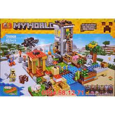 Đồ chơi LEGO Minecraft Thế Giới của Tôi - No.35069 Hãy Xây dựng Thế giới  RIÊNG của Mình (431 chi tiết)