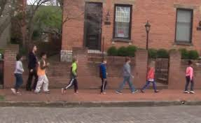 students take learning on the go for national walking day wbns 10tv columbus ohio columbus news weather sports