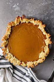 clic pumpkin pie simply scratch