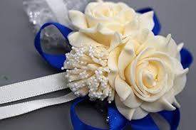 Buy <b>Wedding decoration</b> mariage <b>rose Wrist</b> Corsages Hand <b>Flower</b> ...