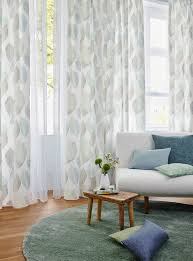 Net Curtains For Living Room Foliage Blue Ado 1205 663 Luxury Voile Curtain From Net Curtains
